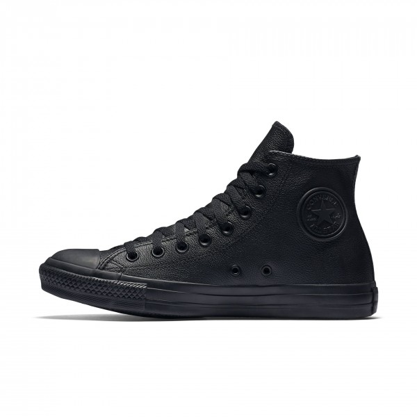 all black leather converse