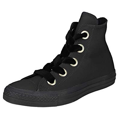 black and gold converse