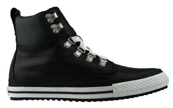 black converse pumps