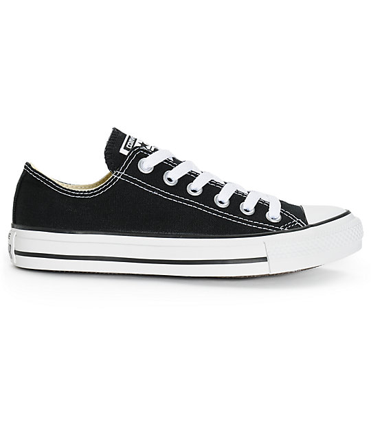 black low top converse womens