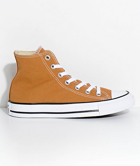 brown converse high tops