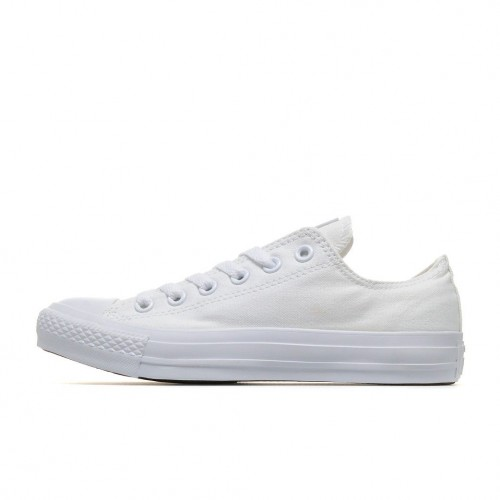 converse all star low white canvas