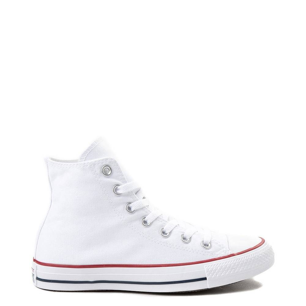 converse all star white high tops