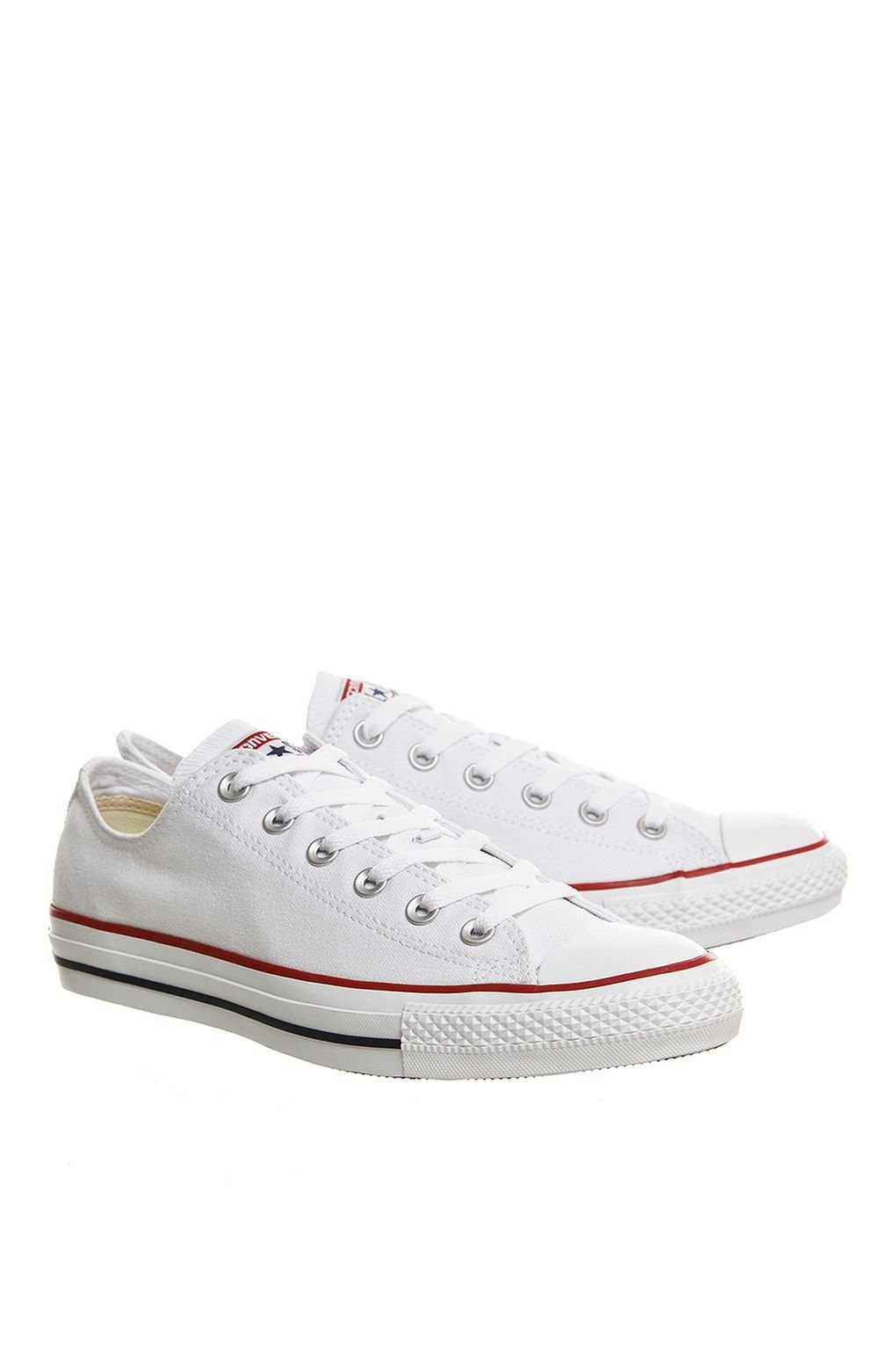 converse all star white low