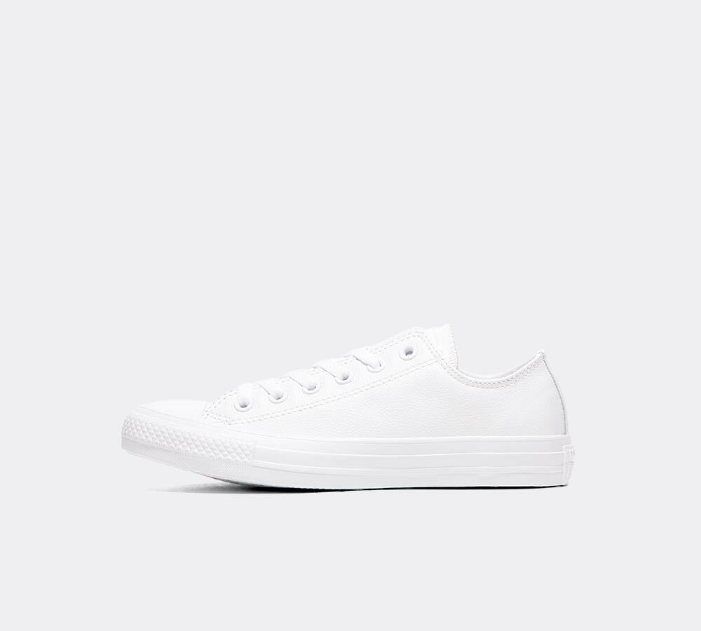 converse chuck taylor leather white