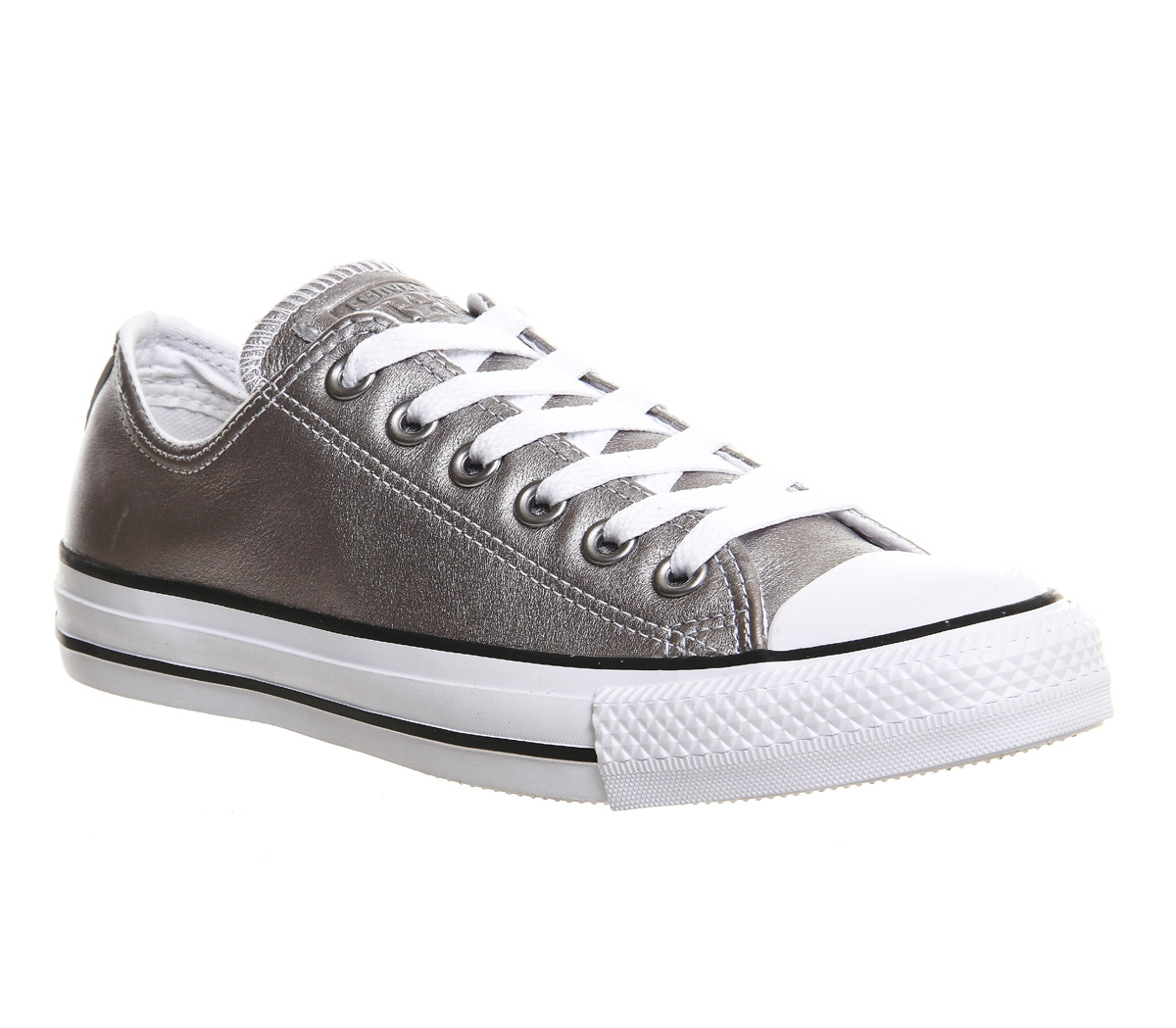converse leather trainers