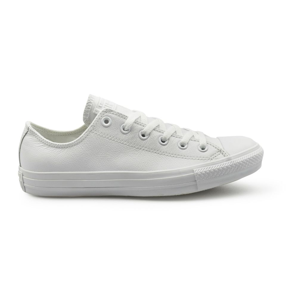converse ox white leather
