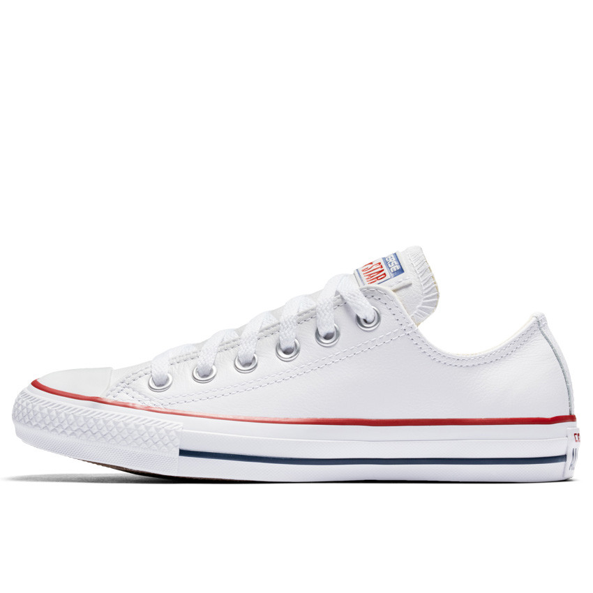 converse white leather shoes