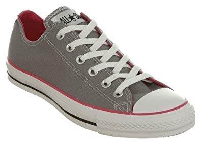 grey and pink converse