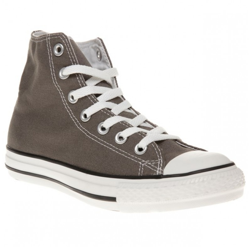 grey converse trainers