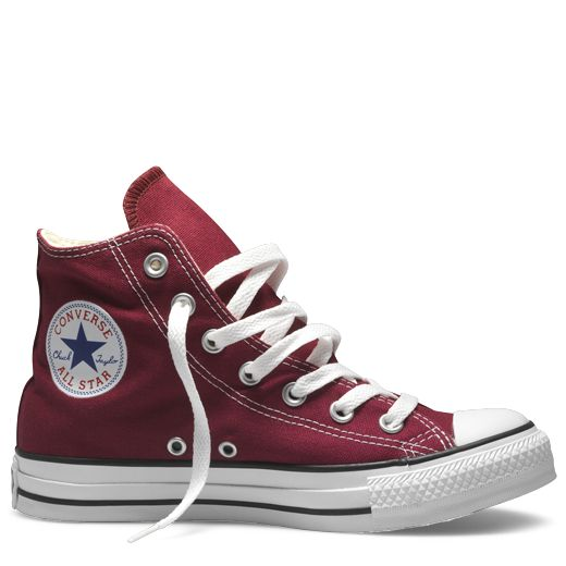maroon converse high tops