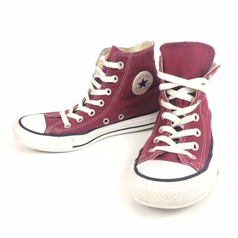 red converse high tops womens