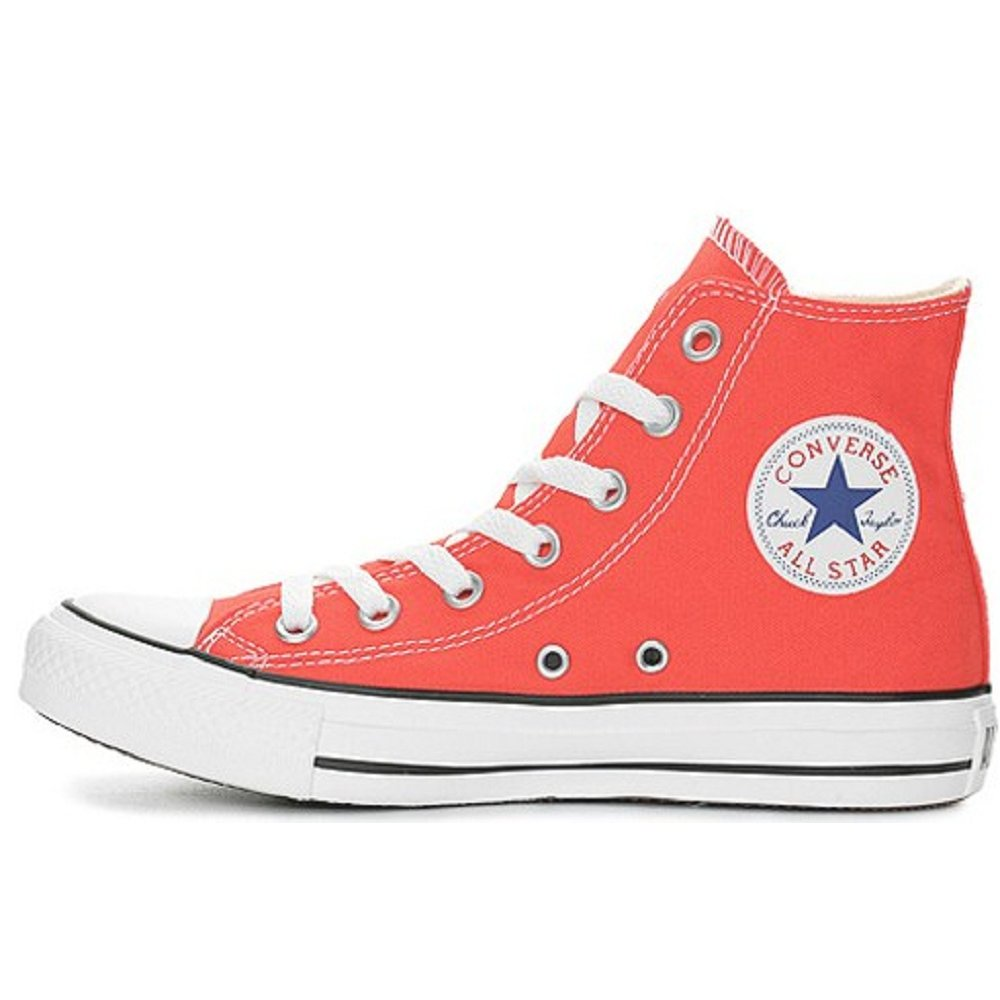 red converse ladies