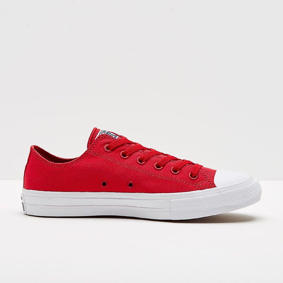 red converse mens