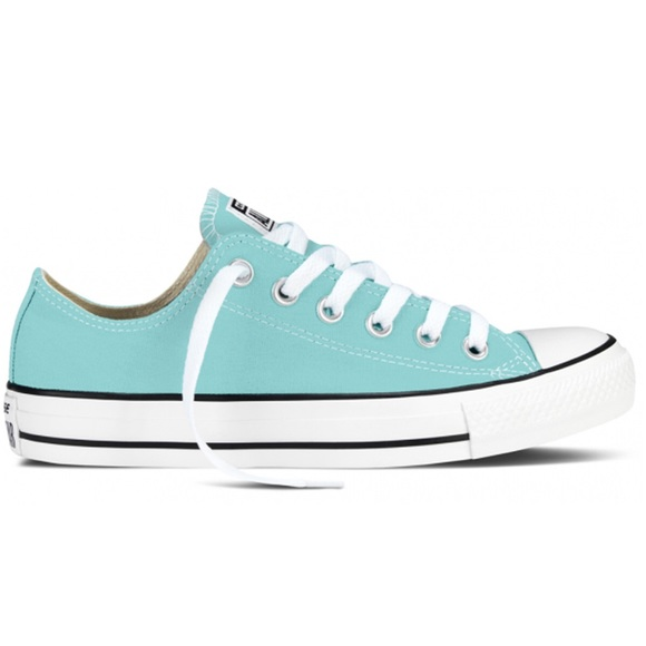 turquoise converse